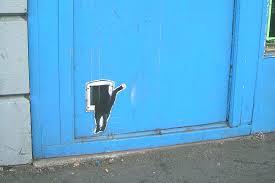 Macskaajtó, cica ajtó