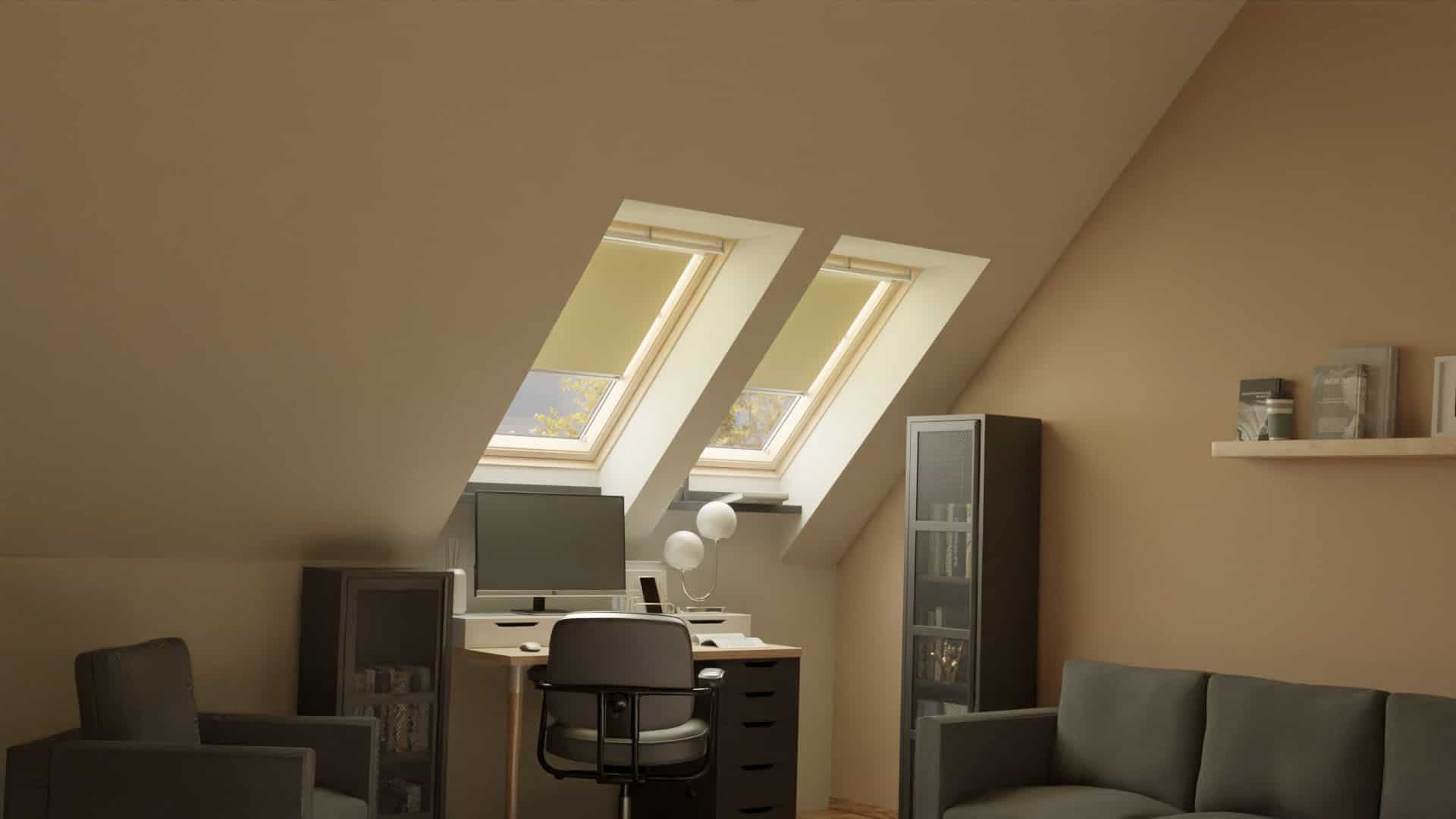 tetőtéri ablak árnyékoló